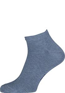 FALKE Happy heren enkelsokken (2-pack), jeansblauw (light denim)