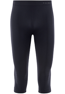 FALKE Warm 3/4 heren thermobroek, kuitlange thermobroek, blauw
