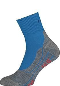 FALKE TK5 Short heren wandelsokken, blauw (galaxy blue)