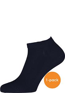 FALKE Family heren enkelsokken, sneakersok, marine blauw (dark navy)
