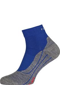 FALKE RU4 Short heren hardloopsokken, blauw (athletic blue)