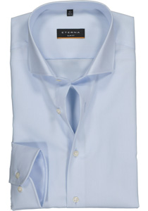 Eterna Slim Fit overhemd, blauw