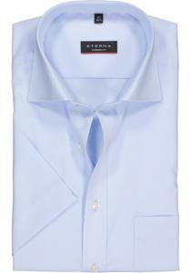 Eterna Modern Fit overhemd, korte mouw, blauw