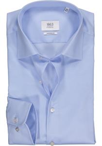 ETERNA 1863 Modern Fit overhemd, lichtblauw twill (premium)
