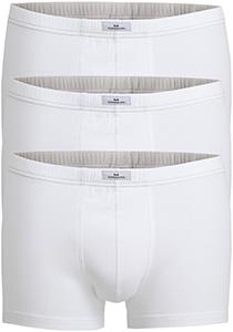 Gotzburg heren boxers (3-pack), normale lengte, wit