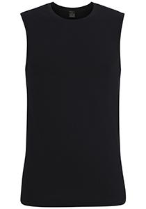 Gotzburg heren shirt mouwloos Slim Fit O-hals 95/5 (1-pack), zwart