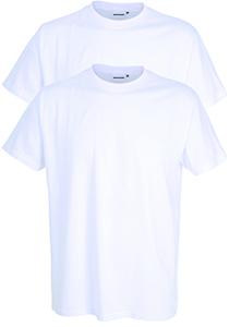 Gotzburg heren T-shirts regular fit O-hals (2-pack), wit
