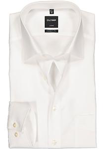 OLYMP Luxor Modern Fit overhemd, mouwlengte 7, beige