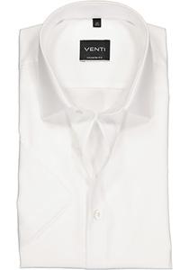 Venti Modern Fit overhemd, korte mouw, wit