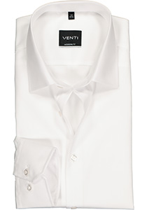 Venti Modern Fit overhemd, mouwlengte 7, wit