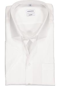 Seidensticker Comfort Fit overhemd korte mouw, wit