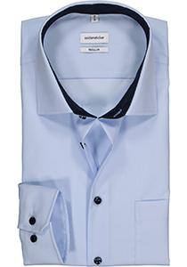 Seidensticker Regular Fit overhemd, lichtblauw (contrast)