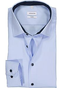Seidensticker shaped fit overhemd, lichtblauw (contrast)