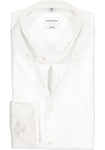 Seidensticker Shaped Fit overhemd button-down, wit