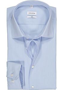 Seidensticker slim fit overhemd, lichtblauw structuur