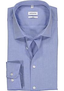 Seidensticker slim fit overhemd, blauw