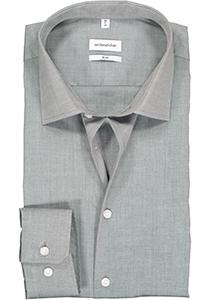 Seidensticker slim fit overhemd, grijs