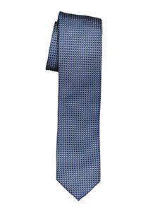OLYMP smalle stropdas, donker blauw