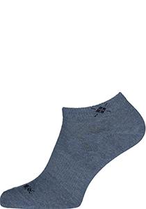 Actie 2-pack: Burlington enkelsokken katoen (Everyday), jeans