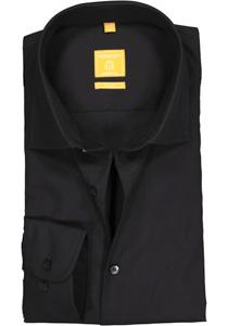 Redmond Modern Fit overhemd, zwart