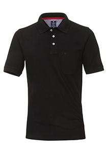 Redmond Regular Fit poloshirt, zwart