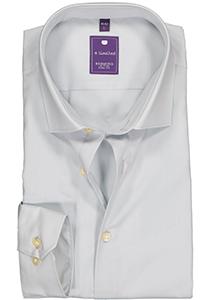 Redmond Slim Fit overhemd, licht grijs