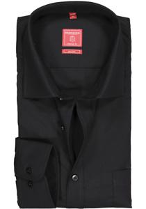 Redmond Regular Fit overhemd, zwart