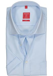 Redmond Regular Fit overhemd korte mouw, licht blauw