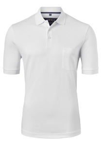 Marvelis Modern Fit poloshirt, Quick Dry, wit