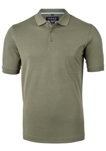 Marvelis Modern Fit poloshirt, Quick Dry, army groen