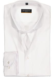 ETERNA Slim Fit overhemd, niet doorschijnend wit twill