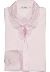 Eterna dames blouse Modern Classic stretch satijnbinding, roze