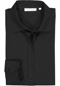 Eterna dames blouse Modern Classic stretch, zwart