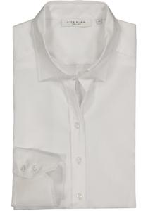 Eterna dames blouse Slim Fit stretch, wit