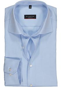 ETERNA Modern Fit overhemd, niet doorschijnend lichtblauw twill