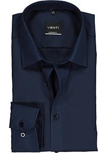 Venti Modern Fit overhemd, marine blauw