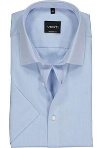 Venti Modern Fit overhemd, korte mouw, licht blauw