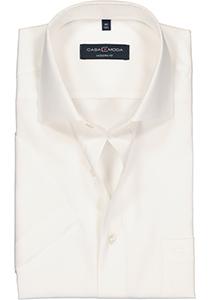 Casa Moda Modern Fit overhemd, korte mouw, beige / off-white