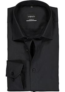Venti Modern Fit overhemd, zwart