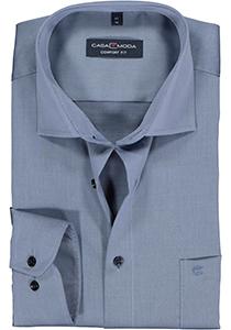Casa Moda Comfort Fit overhemd, mouwlengte 72 cm, blauw twill