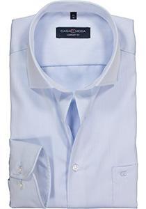 Casa Moda Comfort Fit overhemd, mouwlengte 72 cm, lichtblauw twill