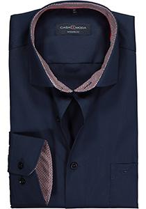 Casa Moda Modern Fit overhemd, donkerblauw (contrast)