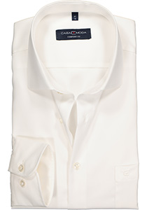 Casa Moda Comfort Fit overhemd, mouwlengte 72 cm, beige twill