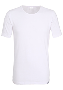 Gotzburg heren T-shirt Slim Fit O-hals 95/5 (1-pack), wit