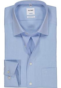 OLYMP Tendenz modern fit overhemd, lichtblauw chambray