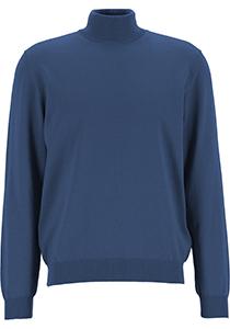 OLYMP modern fit coltrui wol, jeansblauw