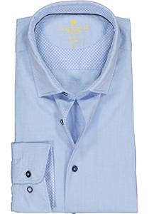 Redmond modern fit overhemd, structuur, lichtblauw (contrast)