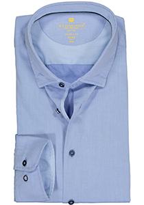 Redmond modern fit overhemd, twill, lichtblauw (contrast)