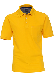 Redmond Regular Fit poloshirt, geel