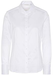 ETERNA dames blouse modern classic, wit